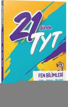 FenCebir Yayınları YKS 1. Oturum TYT 21 Günde Fen Bilimleri Soru Bankası