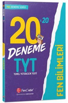 FenCebir Yayınları YKS 1. Oturum TYT Fen Bilimleri 20x20 Deneme