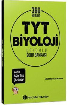 FenCebir Yayınları YKS 1. Oturum TYT 360 Soruda Biyoloji Konu Öğreten Çözümlü Soru Bankası