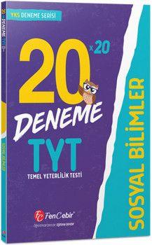 FenCebir Yayınları YKS 1. Oturum TYT Sosyal Bilimler 20 x 20 Deneme