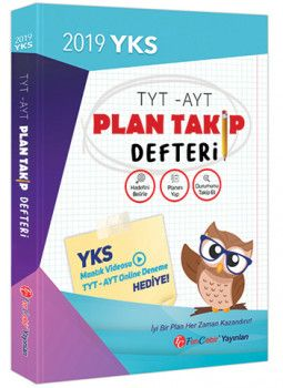 FenCebir Yayınları 2019 TYT AYT Planlı Takip Defteri