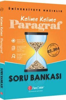 FenCebir Yayınları Kelime Kelime Paragraf Soru Bankası