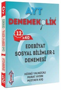 Feybe Yayınları AYT Edebiyat Sosyal Bilimler 1 Denemekolik 12 x 40 Denemesi