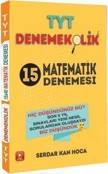 Feybe Yayınları TYT Matematik Denemekolik 15 Denemesi