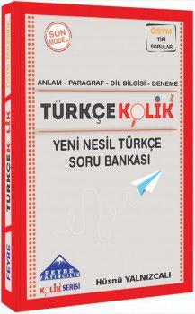Feybe Yayınları TYT Türkçekolik Yeni Nesil Türkçe Soru Bankası