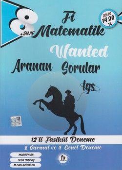 Fi Yayınları 8. Sınıf LGS Matematik Wanted Aranan Sorular 12 li Fasikül Deneme