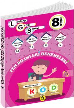 Fi Yayınları 8. Sınıf LGS Fen Bilimleri 24 Deneme