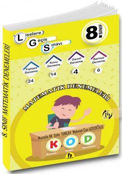 Fi Yayınları 8. Sınıf LGS Matematik 24 Deneme