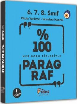 Fides Yayınları % 100 MEB Soru Tipleriyle Paragraf 6. 7. 8. Sınıflar için