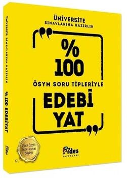 Fides Yayınları %100 ÖSYM Soru Tipleriyle Edebiyat