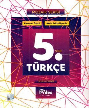 Fides Yayınları 5. Sınıf Türkçe Mozaik Serisi Kazanım Özetli Soru Bankası