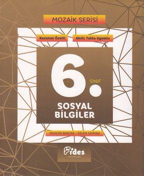 Fides Yayınları 6. Sınıf Sosyal Bilgiler Mozaik Serisi Kazanım Özetli Soru Bankası
