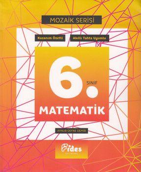 Fides Yayınları 6. Sınıf Matematik Mozaik Serisi Kazanım Özetli Soru Bankası