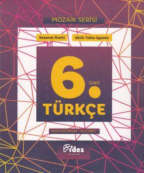 Fides Yayınları 6. Sınıf Türkçe Mozaik Serisi Kazanım Özetli Soru Bankası