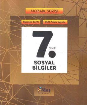 Fides Yayınları 7. Sınıf Sosyal Bilgiler Mozaik Serisi Kazanım Özetli Soru Bankası