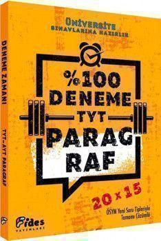 Fides Yayınları TYT Paragraf 20x15 Yüzde Yüz Deneme