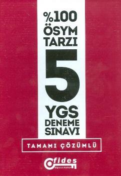 Fides Yayınları YGS 5 Deneme Sınavı Tamamı Çözümlü