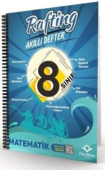 FikriBilim 8. Sınıf Matematik Rafting Akıllı Defter
