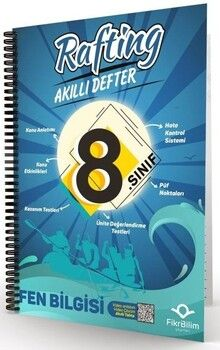 FikriBilim 8. Sınıf Fen Bilimleri Rafting Akıllı Defter