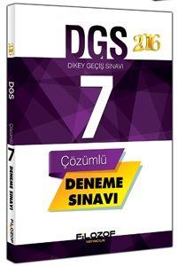 Filozof Yayıncılık DGS 7 Çözümlü Deneme