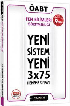 Filozof Yayıncılık ÖABT Fen Bilimleri Öğretmenliği Yeni Sistem 3x75 Deneme Sınavı