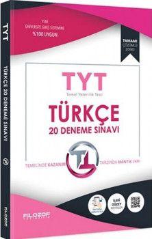 Filozof Yayıncılık TYT Türkçe 20 Deneme Sınavı