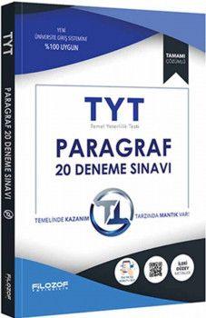 Filozof Yayıncılık TYT Paragraf 20 Deneme Sınavı