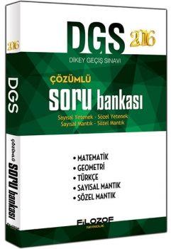 Filozof Yayıncılık 2016 DGS Tamamı Çözümlü Soru Bankası