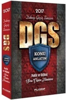 Filozof Yayıncılık DGS Konu Anlatım