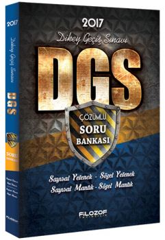 Filozof Yayıncılık 2017 DGS Çözümlü Soru Bankası