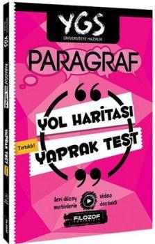 Filozof Yayıncılık YGS Paragraf Yol Haritası Tırtıklı Yaprak Test
