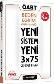 Filozof Yayıncılık ÖABT Beden Eğitimi Öğretmenliği Yeni Sistem 3x75 Deneme Sınavı