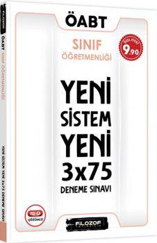Filozof Yayıncılık ÖABT Sınıf Öğretmenliği Yeni Sistem 3x75 Deneme Sınavı