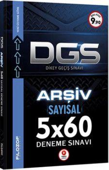 Filozof Yayıncılık DGS Arşiv Sayısal 5x60 Tamamı Video Çözümlü Deneme Sınavı