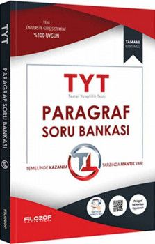 Filozof Yayıncılık TYT Paragraf Soru Bankası