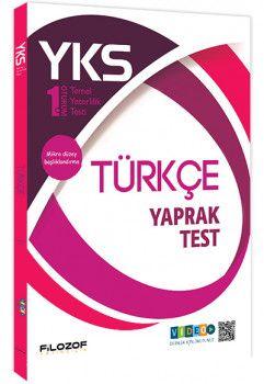 Filozof Yayınları YKS 1. Oturum TYT Türkçe Yaprak Test