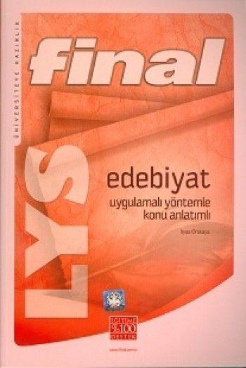 Final Lys Edebiyat Uygulamalı Yöntemle Konu Anlatım (İlyas Örskaya)