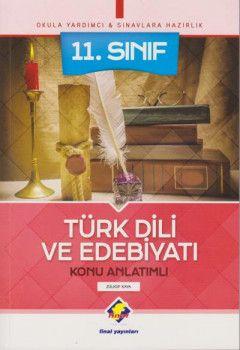 Final Yayınları 11. Sınıf Türk Dili ve Edebiyatı Konu Anlatımlı