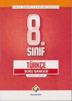 Final Yayınları 8. Sınıf Türkçe Soru Bankası