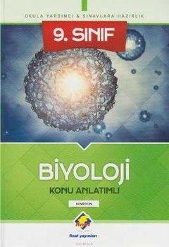 Final Yayınları 9. Sınıf Biyoloji Konu Anlatımlı