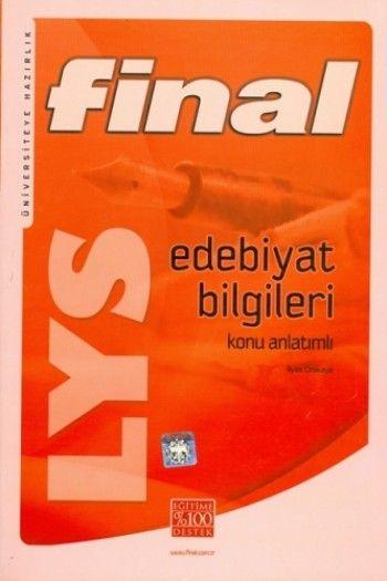 Final Yayınları LYS Edebiyat Bilgileri Konu Anlatımlı
