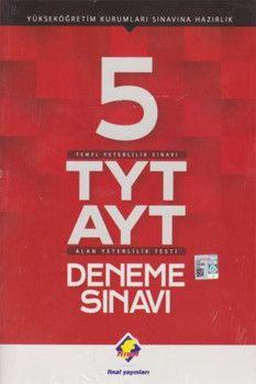 Final Yayınları TYT AYT 5li Deneme Sınavı