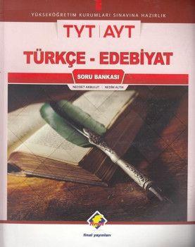 Final Yayınları TYT AYT Türkçe Edebiyat Soru Bankası