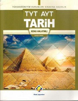 Final Yayınları TYT AYT Tarih Konu Anlatımlı