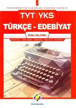 Final Yayınları TYT Türkçe Edebiyat Konu Anlatımlı