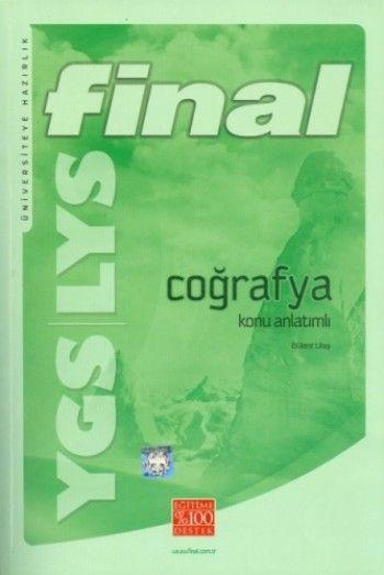 Final Yayınları YGS LYS Coğrafya Konu Anlatımlı ( Bülent Ulaş)