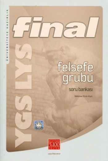 Final Yayınları YGS LYS Felsefe Grubu Soru Bankası