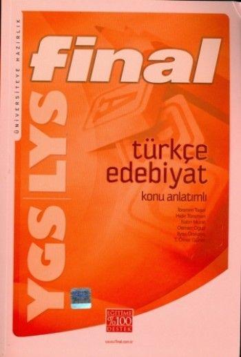 Final Yayınları YGS LYS Türkçe Edebiyat Konu Anlatımlı