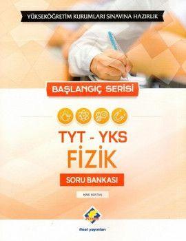 Final Yayınları YKS 1. Oturum TYT Fizik Soru Bankası Başlangıç Serisi