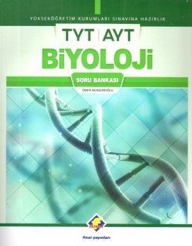 Final Yayınları YKS 1. ve 2. Oturum TYT AYT Biyoloji Soru Bankası